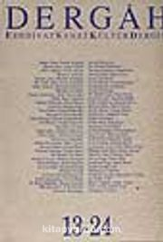 Dergah Edebiyat Sanat Kültür Dergisi 13-24 Cilt 2