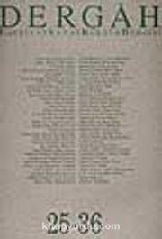 Dergah Edebiyat Sanat Kültür Dergisi 25-36 Cilt 3