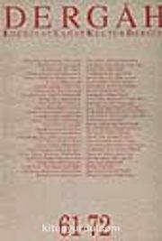 Dergah Edebiyat Sanat Kültür Dergisi 61-72 Cilt 6