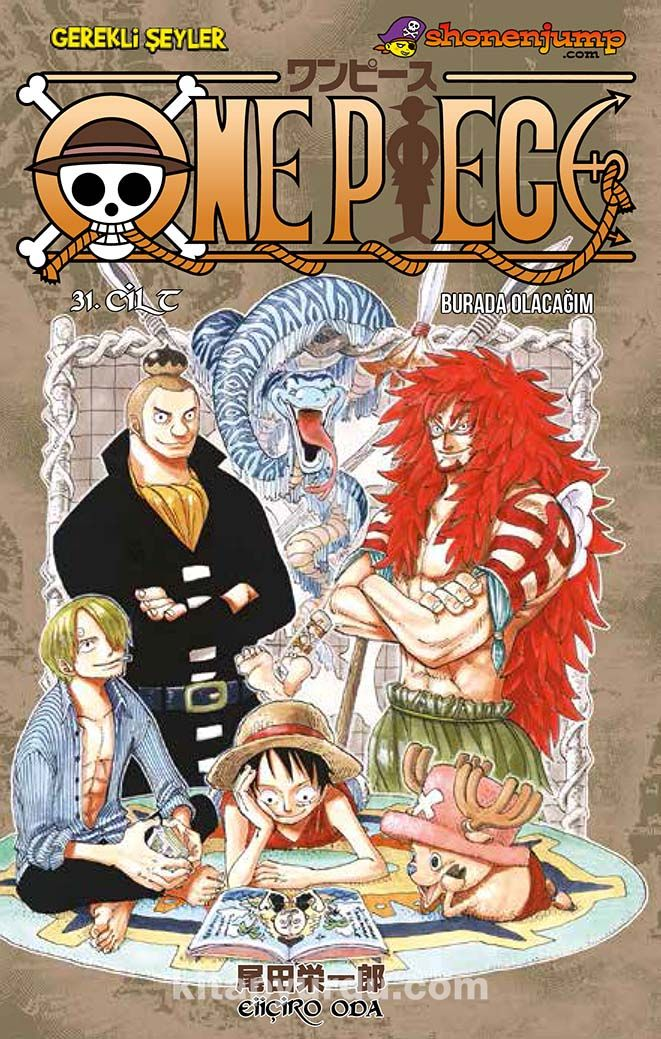 One Piece 31 / Burada Olacağım - Eiiçiro Oda pdf epub