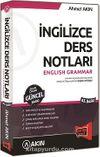 İngilizce Ders Notları