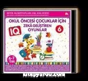 Okul Öncesi Çocuklar İçin IQ Zeka Geliştiren Oyunlar 6  (4-7 Yaş)