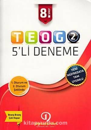 8. Sınıf TEOG 2 - 5'li Deneme - Kollektif pdf epub