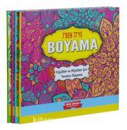 7 Den 77 E Boyama Seti 4 Kitap Takim Kucukler Ve Buyukler Icin
