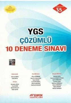 YGS Çözümlü 10 Deneme Sınavı