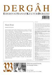 Dergah Edebiyat Sanat Kültür Dergisi Sayı 323 Ocak 2017