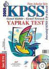 2009 KPSS Yaprak Test Tüm Adayları İçin Genel Kültür - Genel Yetenek