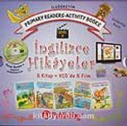 İngilizce Hikayeler (Level 3) 5 Kitap +Vcd'de 5 Film /İlköğretim Prımary Readers-Actıvıty Books