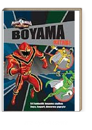 Power Rangers Boyama Kitabı Kitapyurducom
