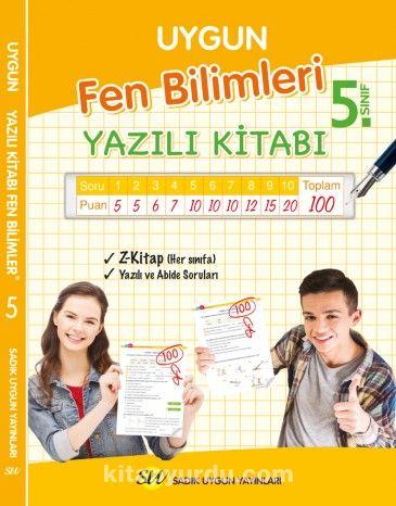 5. Sınıf Fen Bilimleri Yazılı Kitabı - Bilgin Mert Genç pdf epub