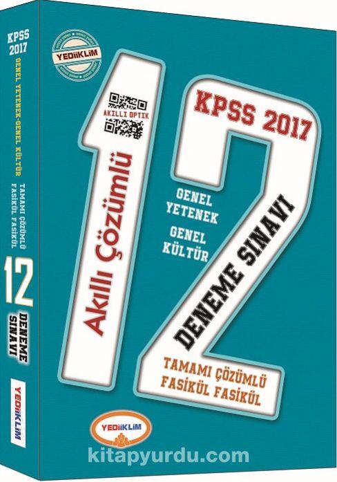 2017 KPSS Genel Yetenek Genel Kültür Tamamı Çözümlü 12 Akıllı Deneme
