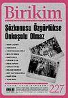 Birikim / Sayı: 227 Yıl: 2008 / Aylık Sosyalist Kültür Dergisi