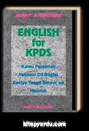 English for KPDS Kamu Personeli Yabancı Dil Bilgisi Seviye Tespit Sınavı'na Hazırlık