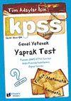 Tüm Adaylar İçin KPSS Genel Yetenek Yaprak Test 2010