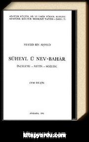 Süheyl ü Nev-Bahar & İnceleme-Metin-Sözlük