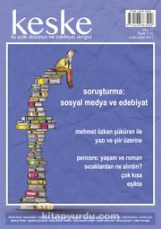 Keşke İki Aylık Düşünce ve Edebiyat Dergisi Sayı:21 Ocak-Şubat 2017