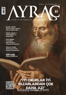 Ayraç Aylık Kitap Tahlili ve Eleştiri Dergisi Sayı:87 Ocak 2017
