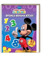 Mickey Mouse Clubhouse Oyun Boyama 1 2 3 Kitapyurducom