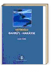 Bahrü'l-Hakayık / Hatiboğlu