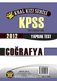2012 KPSS Kral Kızı Serisi Coğrafya Yaprak Test - Komisyon pdf epub