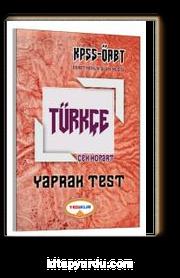 2017 KPSS ÖABT Türkçe Çek Kopart Yaprak Test