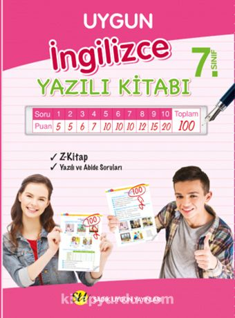 7. Sınıf İngilizce Yazılı Kitabı -  pdf epub