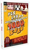 YGS-LYS'den Önce Çözülmesi Gereken 1000 Soru Biyoloji