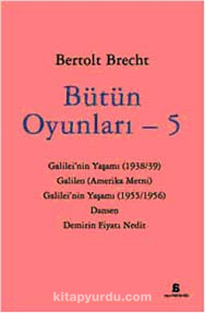 Bütün Oyunları -5 - Bertolt Brecht pdf epub