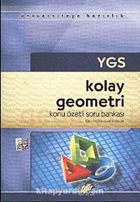 YGS Kolay Geometri Konu Özetli Soru Bankası -  pdf epub