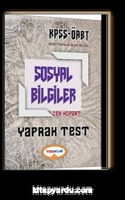 2017 KPSS ÖABT Sosyal Bilgiler Çek Kopart Yaprak Test