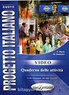 Nuovo Progetto Italiano 1 Video Quaderno delle attività (İtalyanca Temel ve Orta-alt Seviye)