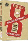 2017 KPSS Eğitim Bilimleri Tamamı Çözümlü Fasikül 8 Deneme