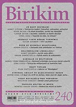 Birikim / Sayı:240  Yıl: 2009 / Aylık Sosyalist Kültür Dergisi