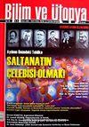 Bilim ve Ütopya Aylık Bilim, Kültür ve Politika Dergisi / Sayı:184