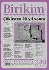 Birikim / Sayı:249  Yıl: 2010 / Aylık Sosyalist Kültür Dergisi