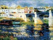 Chatou Köprüsü / Pierre Auguste Renoir (RPA 027-60x80) (Çerçevesiz)