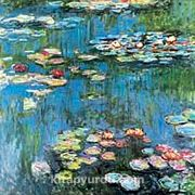 Nilüferler-1914 / Claude Monet (MCL 002-50x50) (Çerçevesiz)