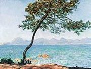 Antibes / Claude Monet (MCL 032-30x40) (Çerçevesiz)
