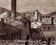 Ankara Augustus Tapınağı / Aderoy (GRV 076-30x35) (Çerçevesiz)