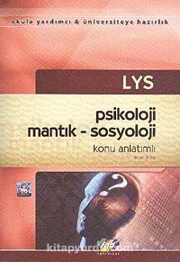 LYS Psikoloji Mantık-Sosyoloji Konu Anlatımlı - Musa Ertaş pdf epub