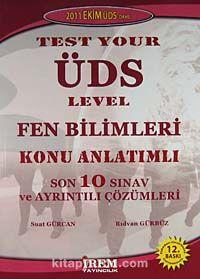 Test Your ÜDS Level Fen Bilimleri Konu Anlatımlı Son 10 Sınav ve Ayrıntılı Çözümleri