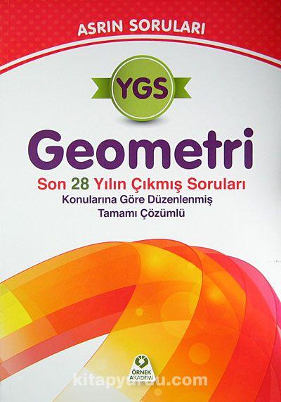 2013 YGS Geometri Asrın SorularıSon 28 Yılın Çıkmış Soruları Konularına Göre Düzenlenmiş Tamamı Çözümlü -  pdf epub