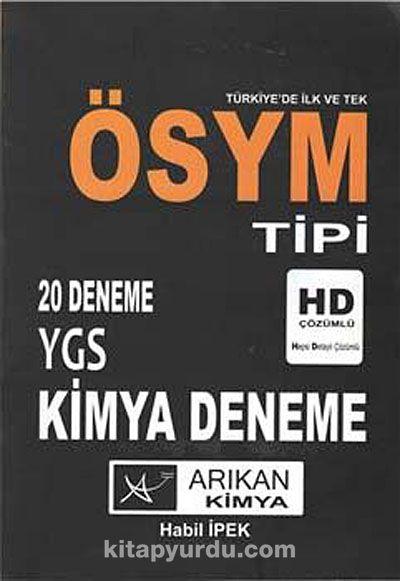 ÖSYM Tipi YGS Kimya Deneme (20 Deneme)