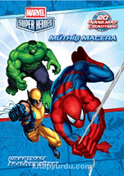 Marvel Süper Heroes Müthiş MaceraÇıkartmalı Faaliyet Kitabı -  pdf epub