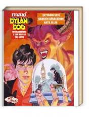 Maxi Dylan Dog Sayı: 5 Şeytanın Sesi - Kaderin Gölgesinde - Katil Eller