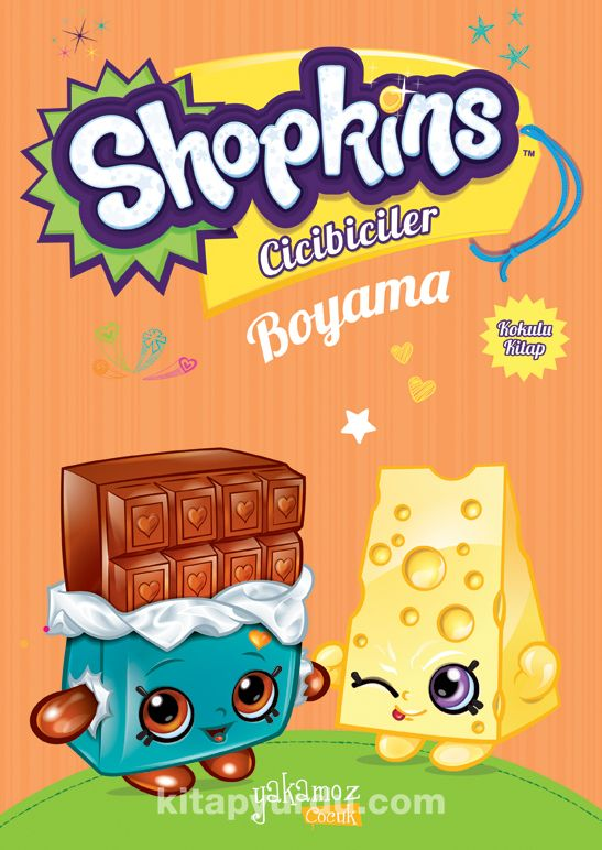 Shopkins Cicibiciler Boyama 4 Kollektif Kitapyurducom