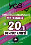 YGS Çıkmış Sorulardan Oluşturulmuş Matematik 20'li Deneme Paketi
