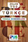 20x40 YGS Türkçe Yonga Denemeleri