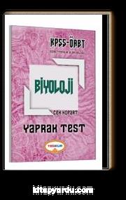 2017 KPSS ÖABT Biyoloji Çek Kopart Yaprak Test