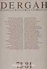 Dergah Edebiyat Sanat Kültür Dergisi 73-84 Cilt 7